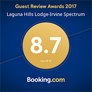 Booking.com scored 8.7 out of 10